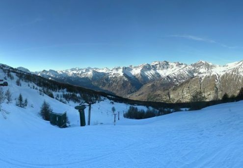 Excellent snow cover at altitude in the western Italian Alps. This is Bardonecchia – 15 December 2016 – Photo: bardonecchiaski.com