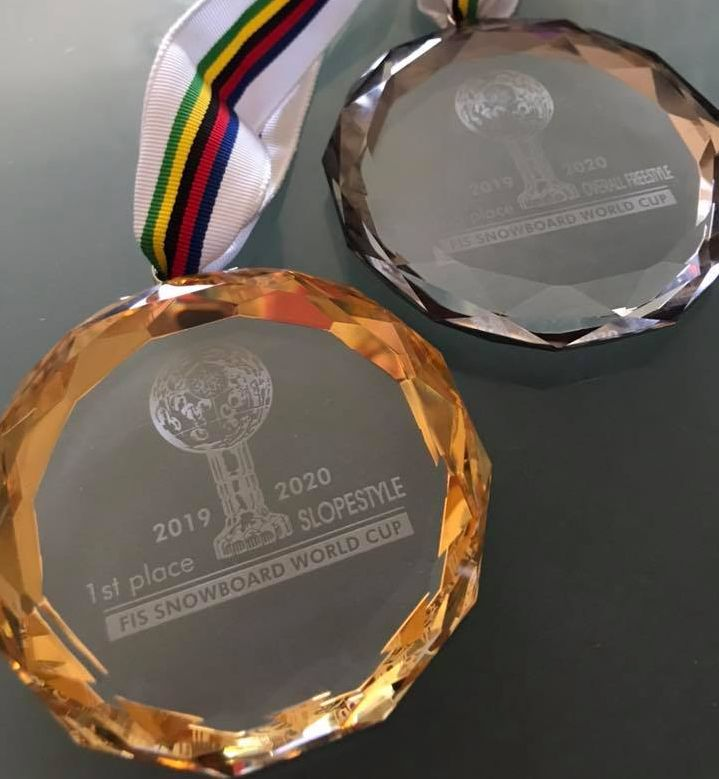 Katie Ormerod's overall medals for 2019-20 season