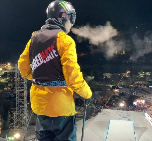 James Woods at the X Games Apsen